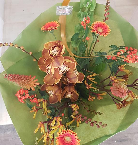 Orchidee Warm bruin